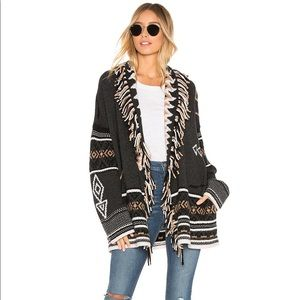 360 Cashmere Alanui Style Wrap Cardigan Jacket